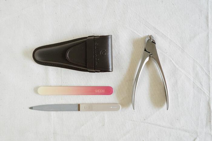 セルフネイルケアの道具