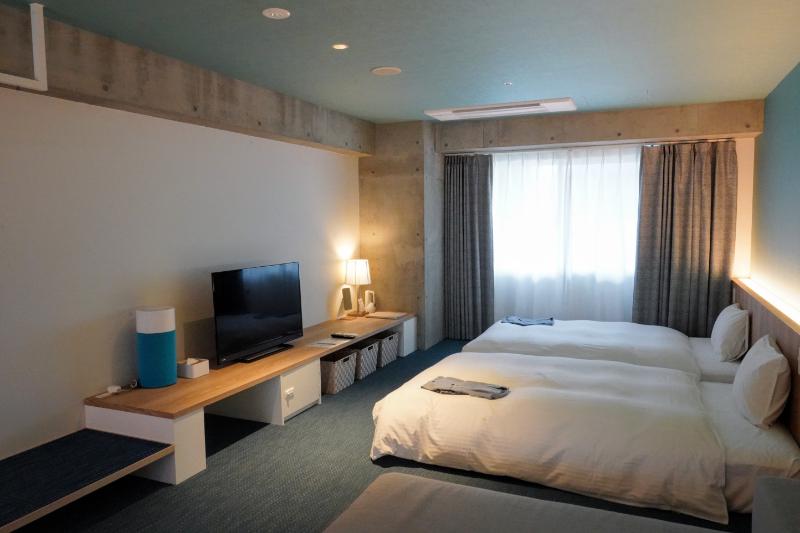 ロワジール リビングスイーツ瀬良垣の寝室