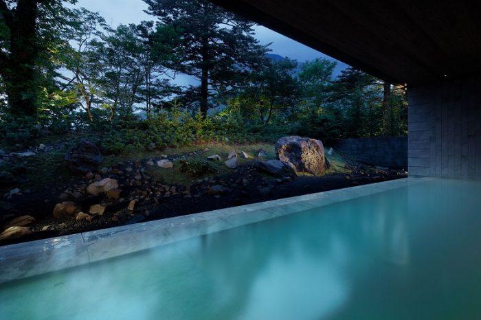 リッツカールトン日光の温泉