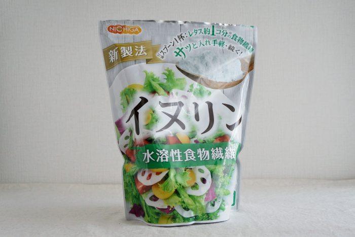 水溶性食物繊維のイヌリン