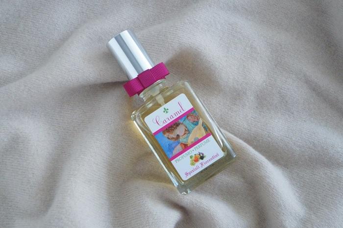デルベのキャラメルの香水