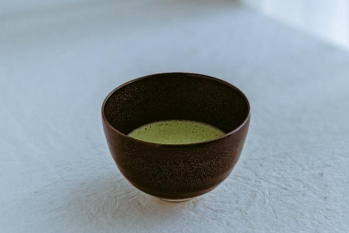 家で点てた抹茶