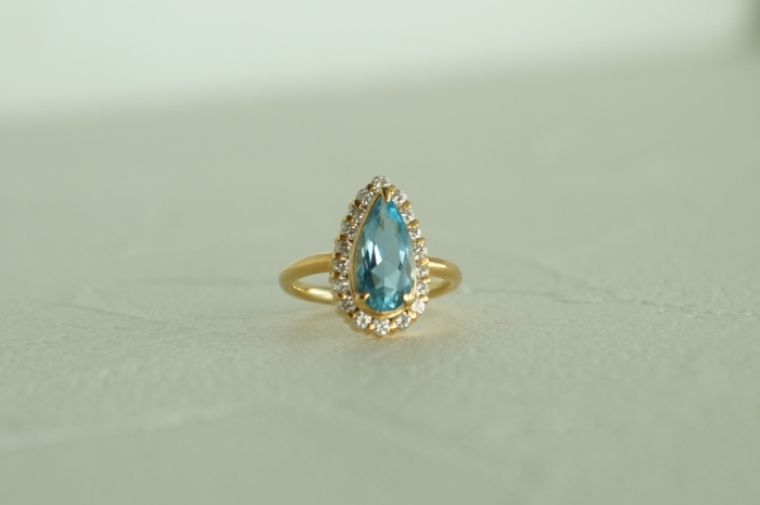 夢仕立メルサ銀座店でリフォームした指輪